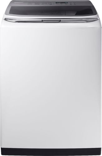 Samsung - Activewash 5.4 Cu. Ft. 12-Cycle High-Efficiency Top-Loading Washer with Steam - White 5712041