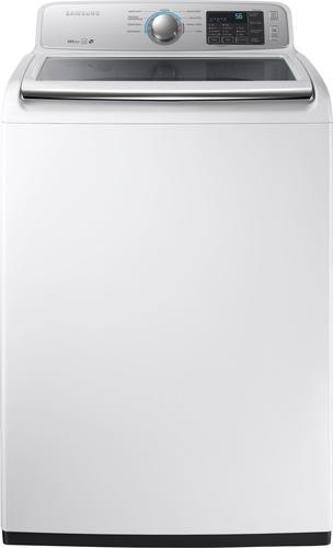 Samsung - 4.5 Cu. Ft. 9-Cycle Top-Loading Washer - White 5712042