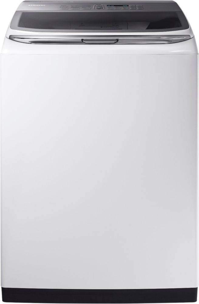 Samsung Activewash 5.2 Cu. Ft. 12-Cycle High-Efficiency Top-Loading Washer White WA52M8650AW