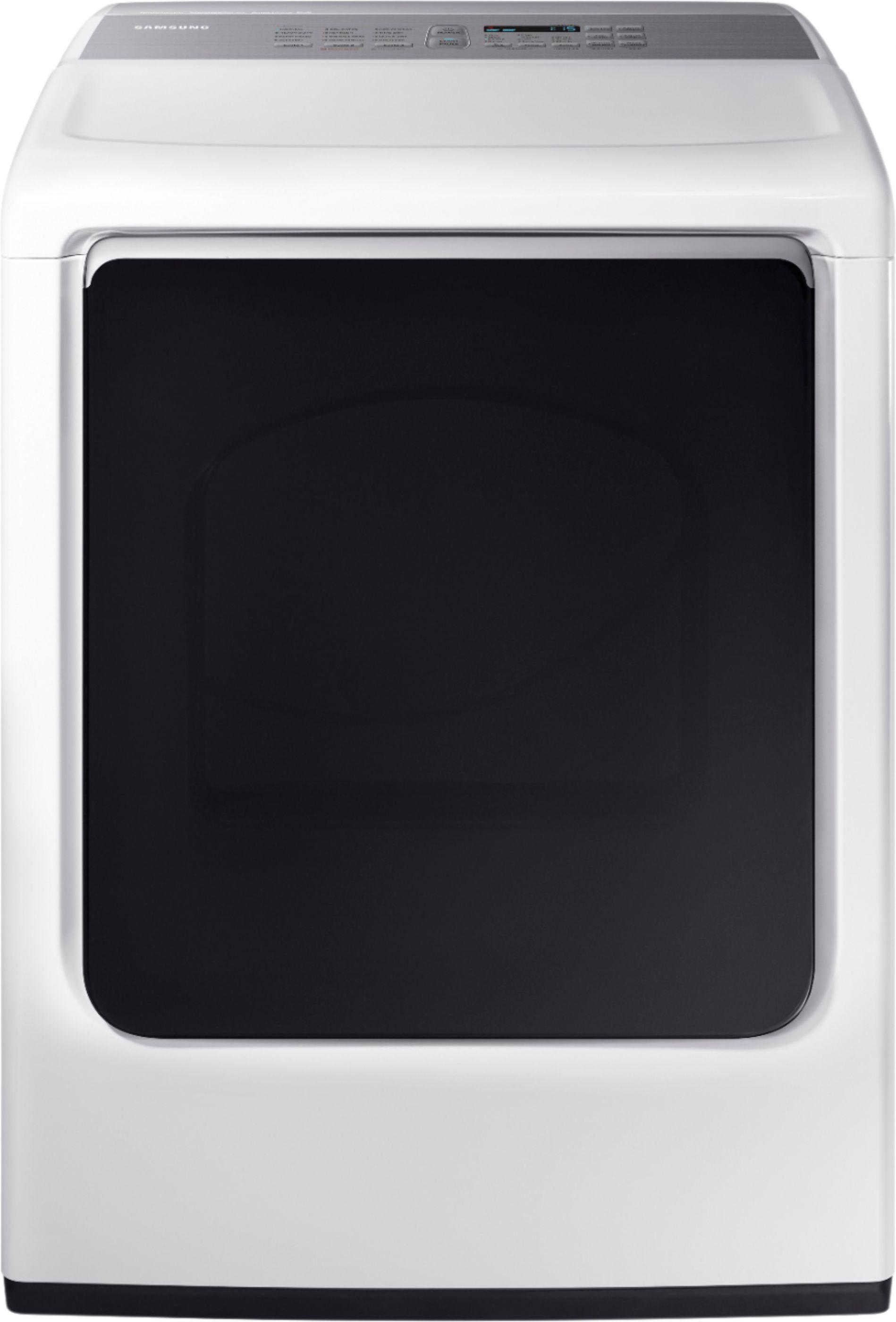 Samsung 7.4 cu. ft. Capacity DOE Electric Dryer White DVE52M8650W