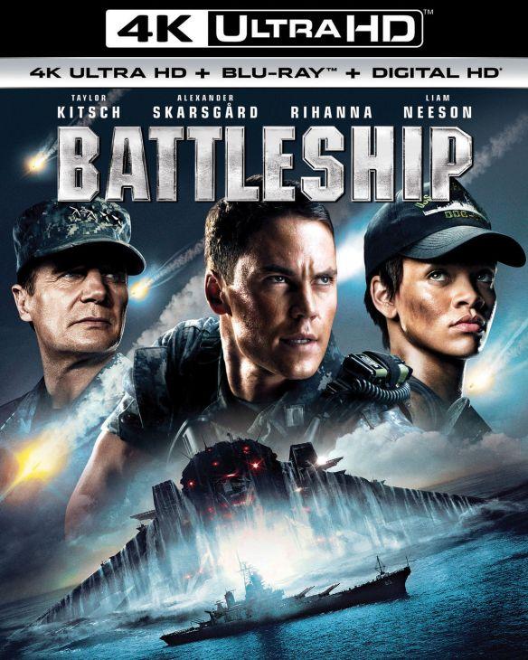 Battleship [4K Ultra HD Blu-ray/Blu-ray] [Includes Digital Copy] [UltraViolet] [2012] 5712115