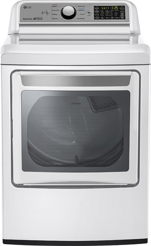 LG DLE7200WE DLE7200WE 7.3 Cu. Ft. White Electric Dryer