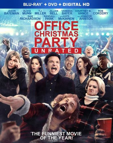 Office Christmas Party [Includes Digital Copy] [Blu-ray] [2016] 5712170