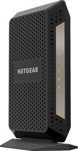 NETGEAR - 32 x 8 DOCSIS 3.1 Cable Modem - Black AC1750 Router with DOCSIS 3.1 Modem ComboSpeeds up to 1GbpsWorks with XFINITY from Comcast1 Gigabit Ethernet port
