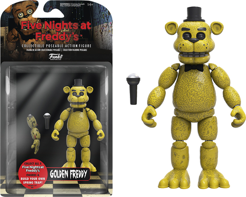 Funko - Five Night's at Freddy's Golden Freddy Figure 5712215
