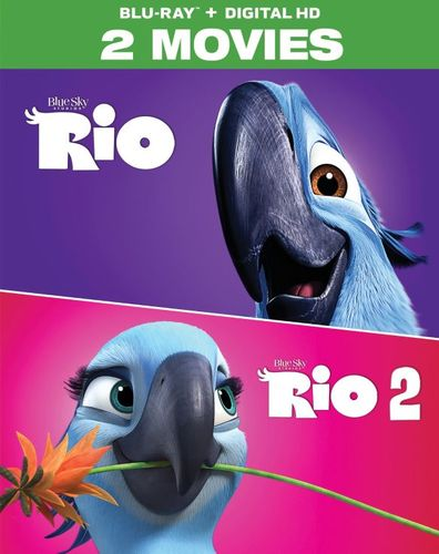 Rio: 2-Movie Collection [Blu-ray] [2 Discs] 5712235