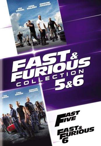 Fast and Furious Collection: 5 and 6 [2 Discs] [DVD] 5712626