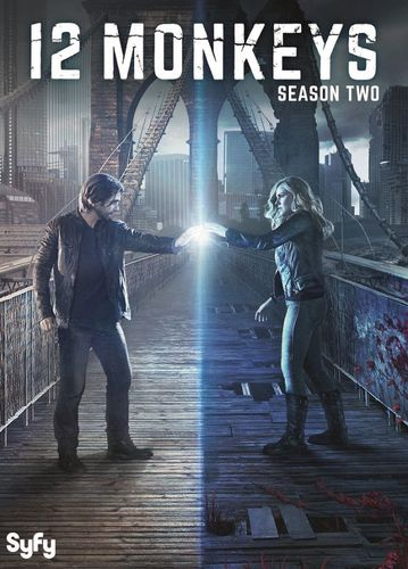 12 Monkeys: Season Two [3 Discs] [DVD]