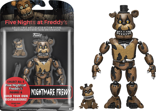 Funko - Five Nights at Freddy's: Nightmare Freddy 5713014