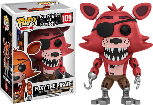 Funko - Pop! Games Five Nights at Freddy's: Foxy the Pirate 5713015