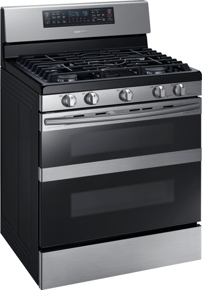 Samsung NX58M6850SS 5.8 cu. ft. Flex Duo Freestanding Gas Range Stainless Steel