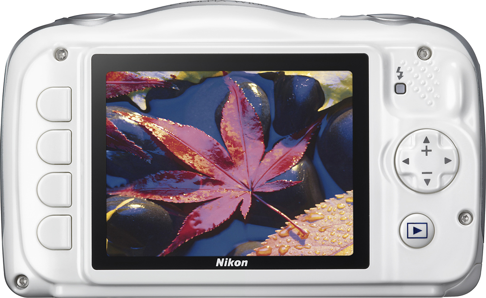 Nikon 26515 COOLPIX W100 13.2-Megapixel Waterproof Digital Camera White