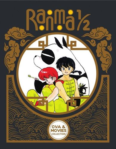 Ranma 1/2: OVA and Movie Collection [Blu-ray] [3 Discs] 5714355