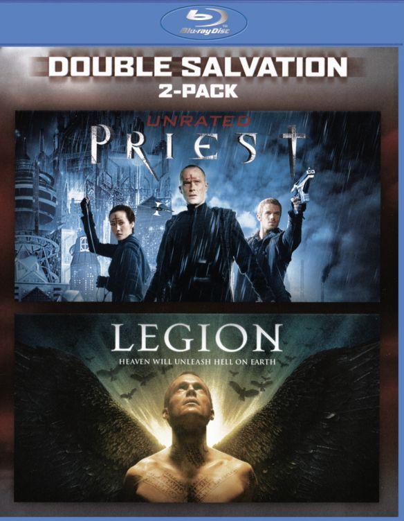 Legion/Priest [Blu-ray] [2 Discs] 5714402