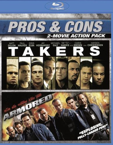Armored/Takers [Blu-ray] [2 Discs] 5714403