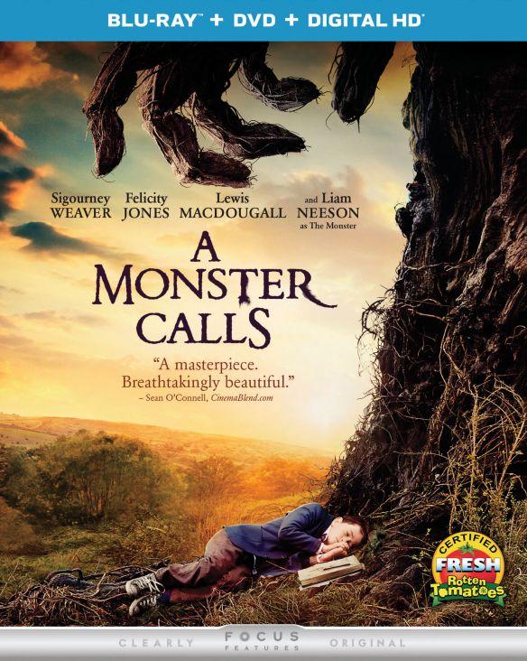 A Monster Calls [Includes Digital Copy] [UltraViolet] [Blu-ray/DVD] [2 Discs] [2016] 5714405
