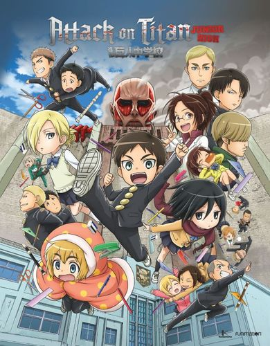 Attack on Titan: Junior High - The Complete Series [Blu-ray] 5714409