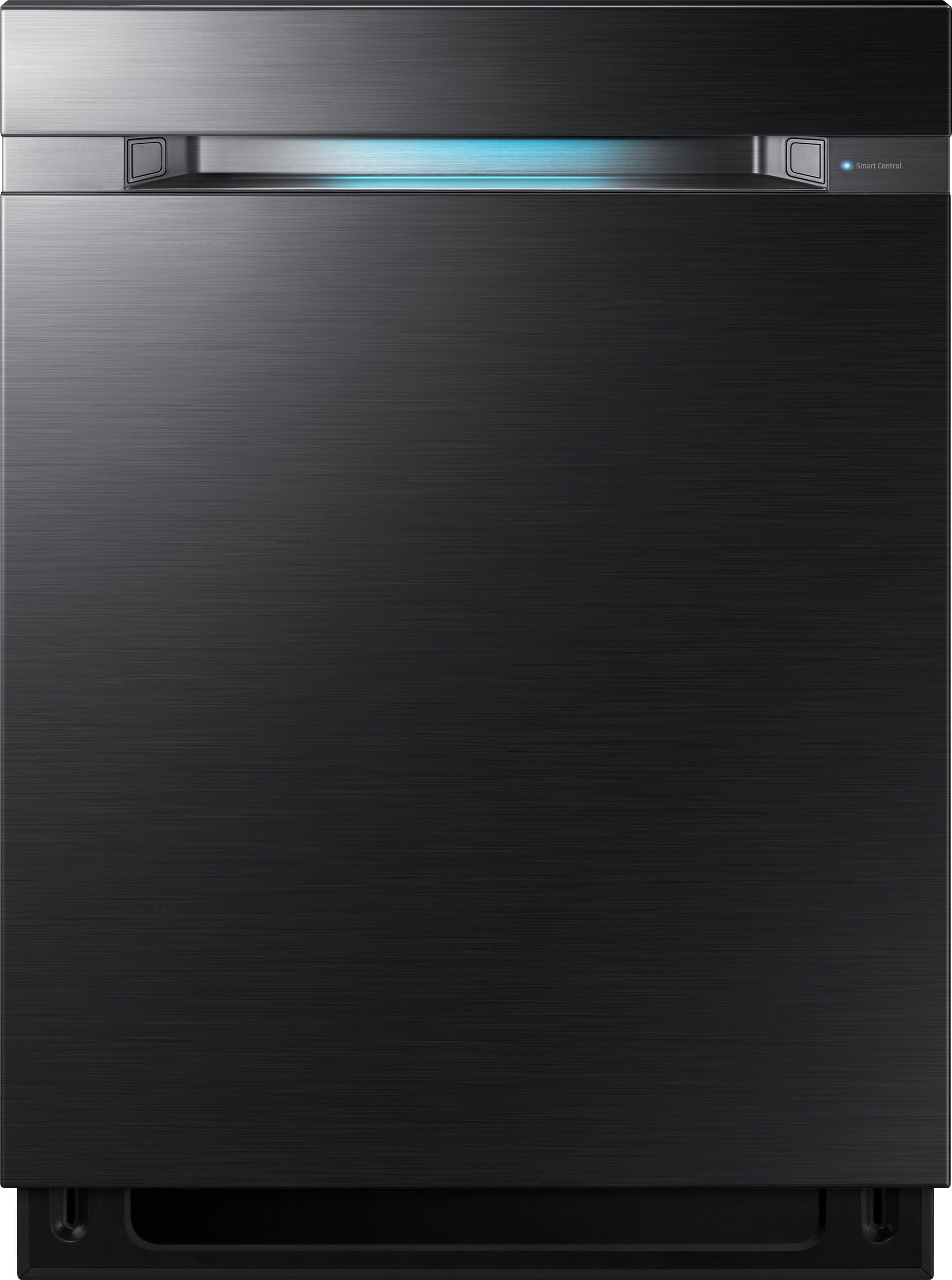 "Samsung Waterwall 24"" Tall Tub Built-In Dishwasher Black Stainless Steel DW80M9960UG"