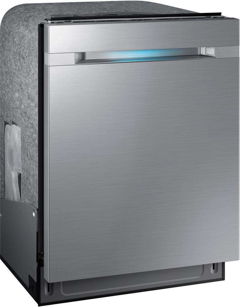 "Samsung DW80M9550US Waterwall 24"" Top Control Tall Tub Built-In Dishwasher Stainless steel"