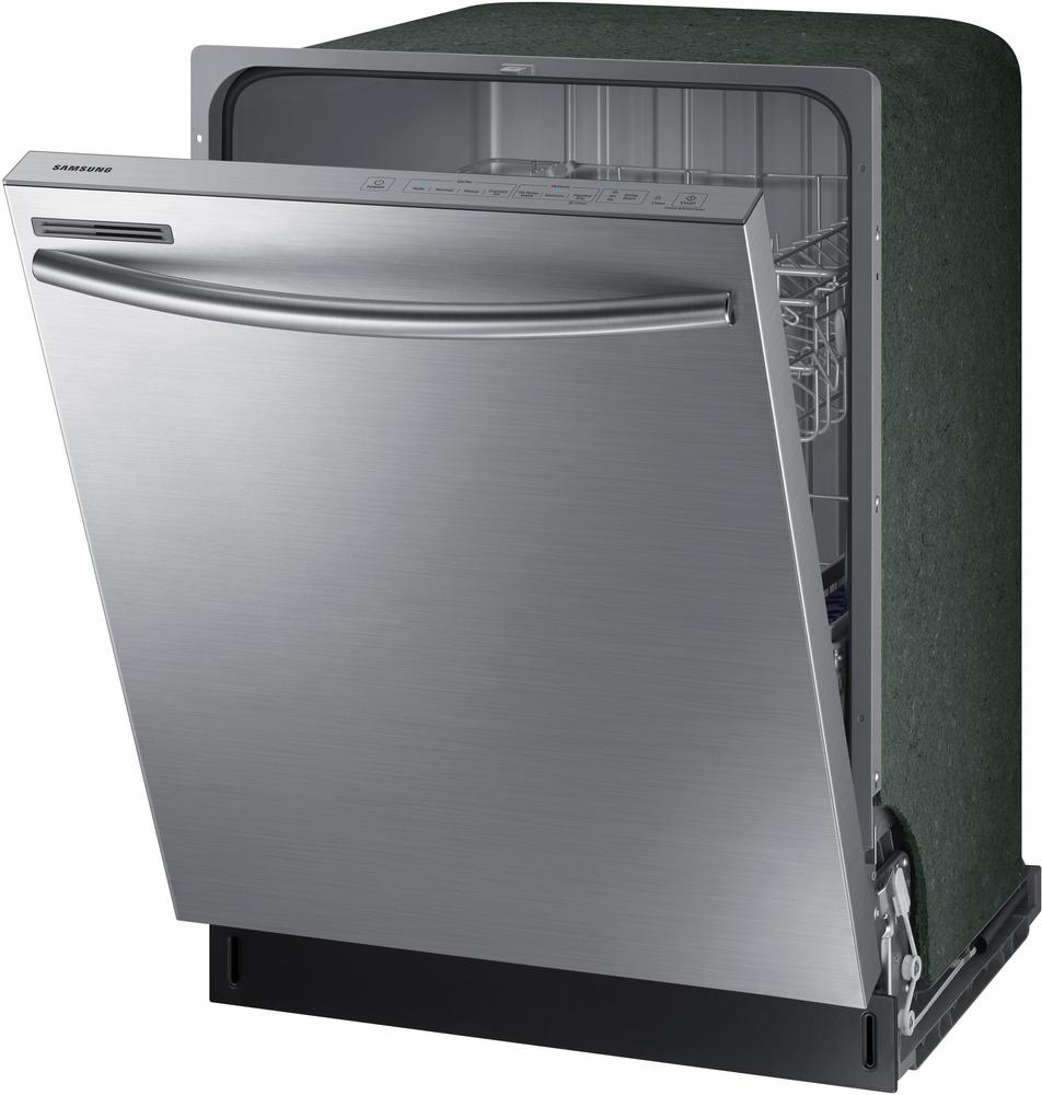 """Samsung DW80M2020US 24"""" Top Control Tall Tub Built-In Dishwasher Stainless steel"""