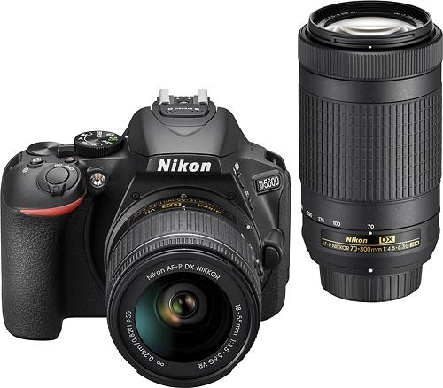 nikon-d5600-dslr-camera-with-18-55mm-and-70-300mm-lenses-black
