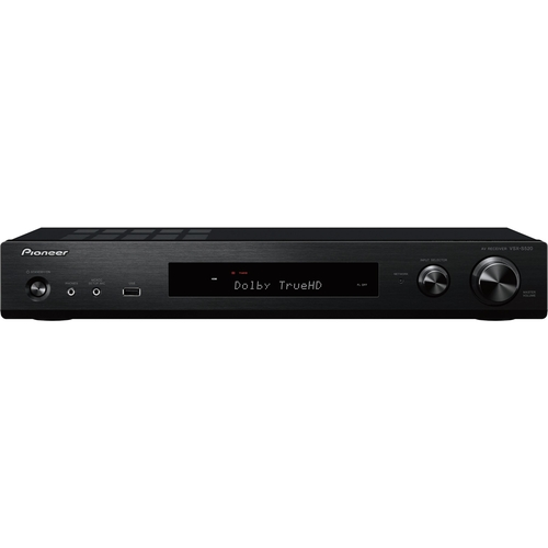 Pioneer - 5.1-Ch. Network-Ready 4K Ultra HD and 3D Pass-Through HDR Compatible A/V Home Theater Receiver - Black 5715431