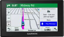 """Garmin - DriveSmart 51 LMT-S 5"""" GPS with Built-In Bluetooth, Lifetime Map and Traffic Updates - Black"""