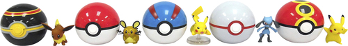 Pokémon - Clip and Carry Pokeball Action Figure 5715714