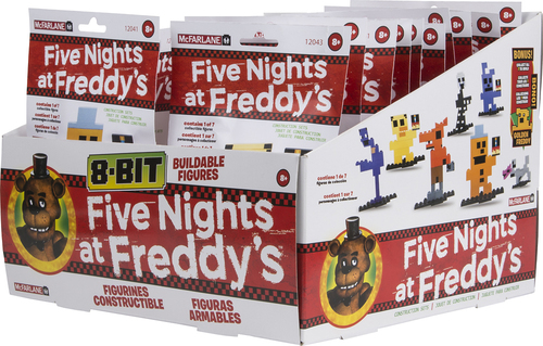 McFarlane Toys - Five Nights at Freddy's Series 1 Plastic 8-Bit Buildable Figure 5715718