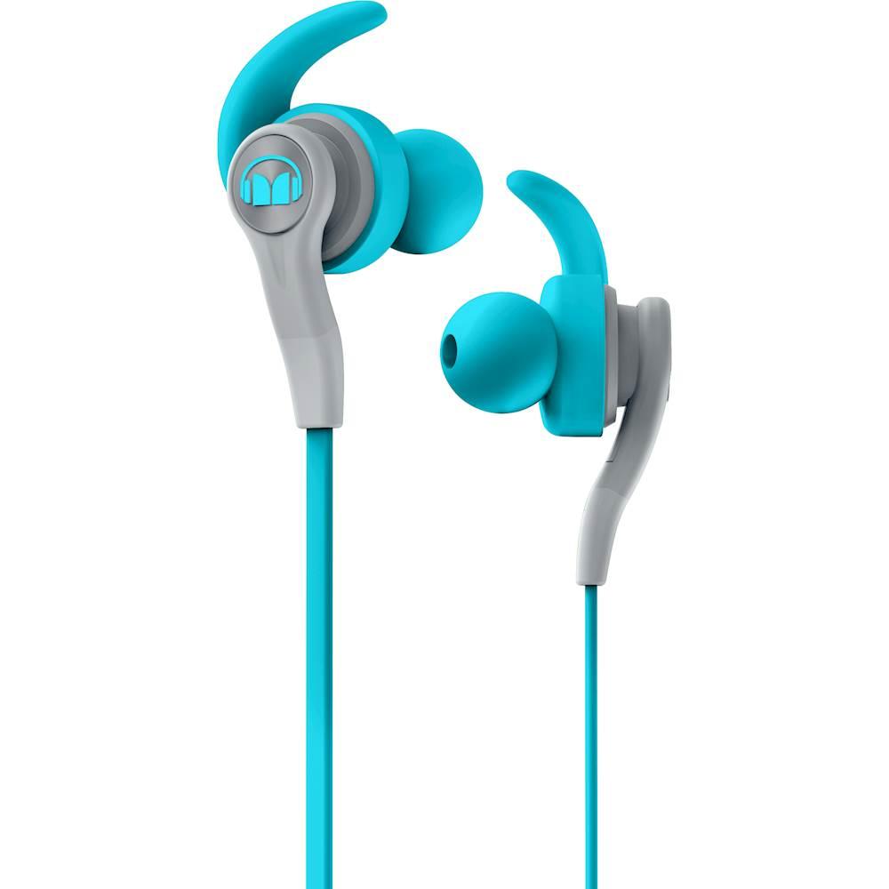 Monster 137083-00 iSport Compete In-Ear Headphones Blue