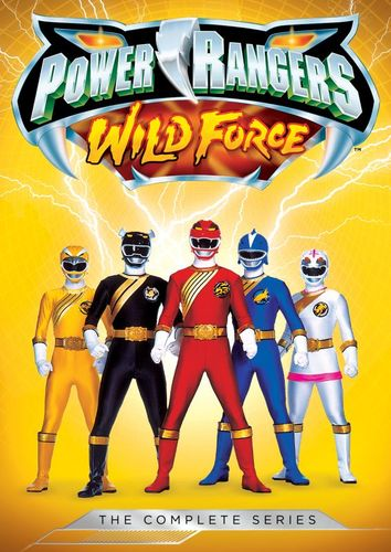 Power Rangers: Wild Force - The Complete Series [5 Discs] [DVD] 5716800