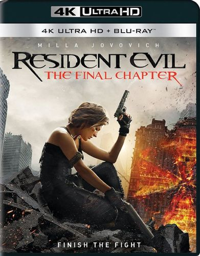 Resident Evil: The Final Chapter [Includes Digital Copy] [4K Ultra HD Blu-ray/Blu-ray] [2017] 5717002