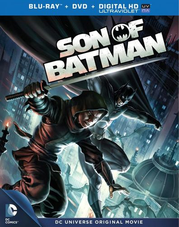 Son of Batman [2 Discs] [Includes Digital Copy] [UltraViolet] [Blu-ray/DVD] [2014] 5719029