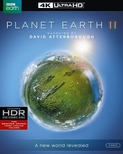 Planet Earth II [4K Ultra HD Blu-ray] [3 Discs] 5721109