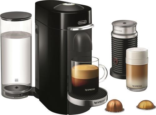 Nespresso - VertuoPlus Deluxe Espresso Maker/Coffeemaker - Piano black 5721504