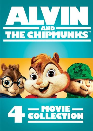 Alvin and the Chipmunks: 4-Movie Collection [4 Discs] [DVD] 5721516