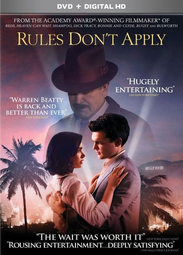 Rules Don't Apply [DVD] [2016] 5721518