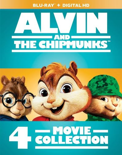 Alvin and the Chipmunks: 4-Movie Collection [Blu-ray] [4 Discs] 5721519