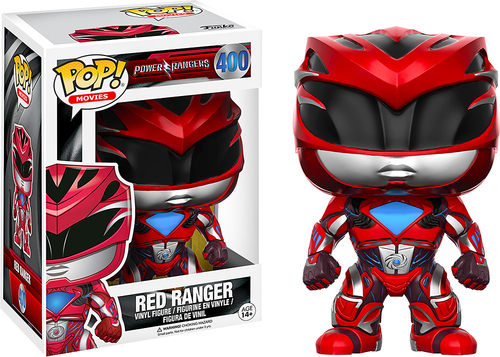 Funko - Pop! Movies Power Rangers: Red Ranger 5723335