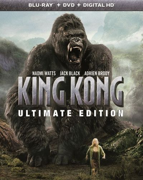 King Kong [Ultimate Edition] [Blu-ray/DVD] [3 Discs] [2005] 5723347