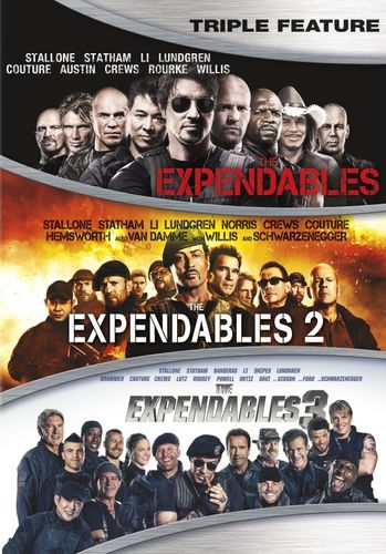 The Expendables/The Expendables 2/The Expendables 3 [DVD] 5723383