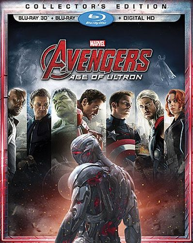 Image of Avengers: Age of Ultron [Includes Digital Copy] [3D] [Blu-ray] [Blu-ray/Blu-ray 3D] [2015]