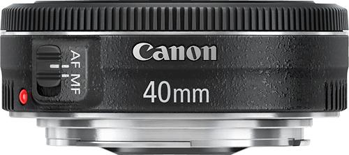 Canon 6310B002 EF 40mm f/2.8 STM Standard Lens Black