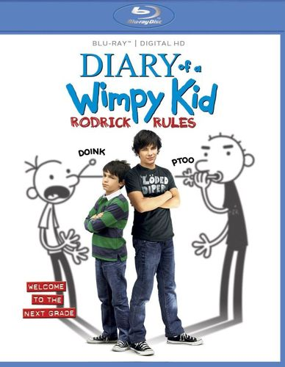 Diary of a Wimpy Kid: Rodrick Rules [Blu-ray] [2011] 5730513