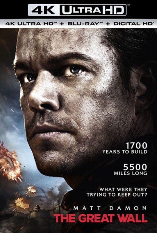 The Great Wall [Includes Digital Copy] [4K Ultra HD Blu-ray/Blu-ray] [2016] 5731018
