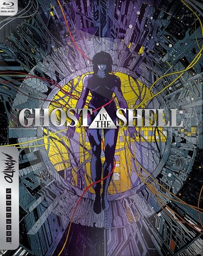 Ghost in the Shell [SteelBook] [Includes Digital Copy] [UltraViolet] [Blu-ray] [1996] 5732505