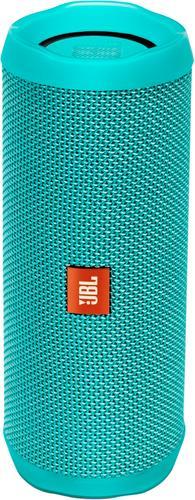 JBL - Flip 4 Portable Bluetooth Speaker - Teal