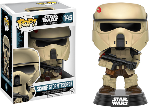 Funko - POP! Star Wars Rogue One: Scarif Stormtrooper - Multi