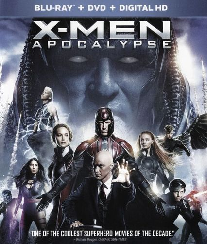 X-Men: Apocalypse [Blu-ray/DVD] [2016] 5734407