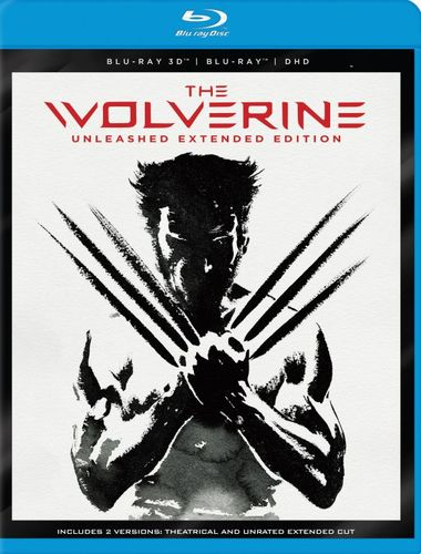 The Wolverine [3D] [Blu-ray] [Blu-ray/Blu-ray 3D] [2013] 5734414
